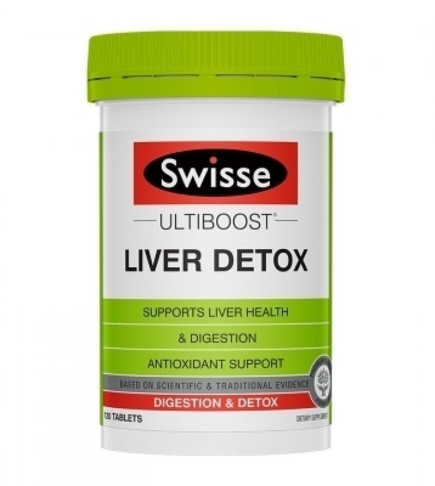 Swisse 护肝排毒片 120片  Swisse Liver Detox 120Tab, 新包装