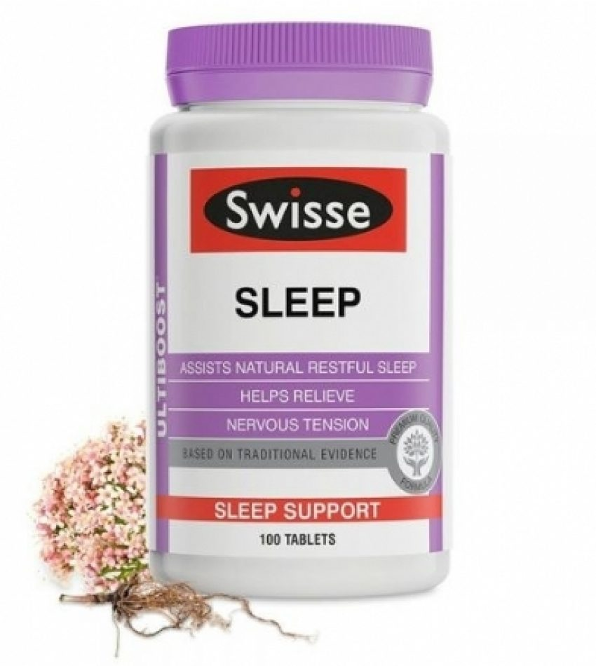 Swisse 植物精华安睡助眠片 睡眠片 100片 Swisse Ultiboost Sleep 100片(23年中到期)
