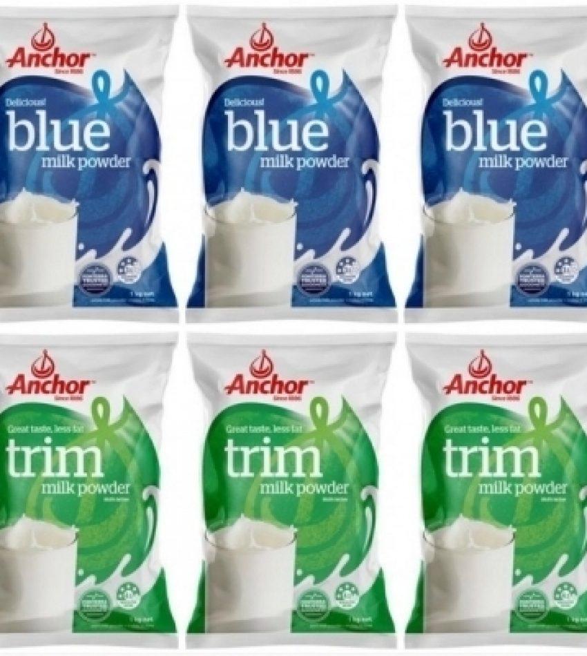【包邮】Anchor安佳 全脂 / 脱脂 / 混装 成人奶粉 1kg*6袋/箱 包邮 Anchor Milk Powder 1kg*6, (全脂 / 脫脂 / 混装, 3种可选) (22年6月到期)