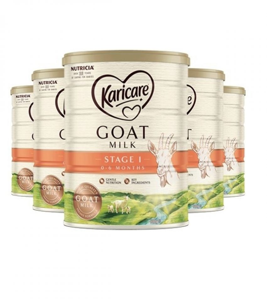 【包邮】Karicare可瑞康 羊奶粉900克*6罐 1段(0-6个月) Karicare Goat Milk Stage 1 (0 to 6 months)(23年3月到期)