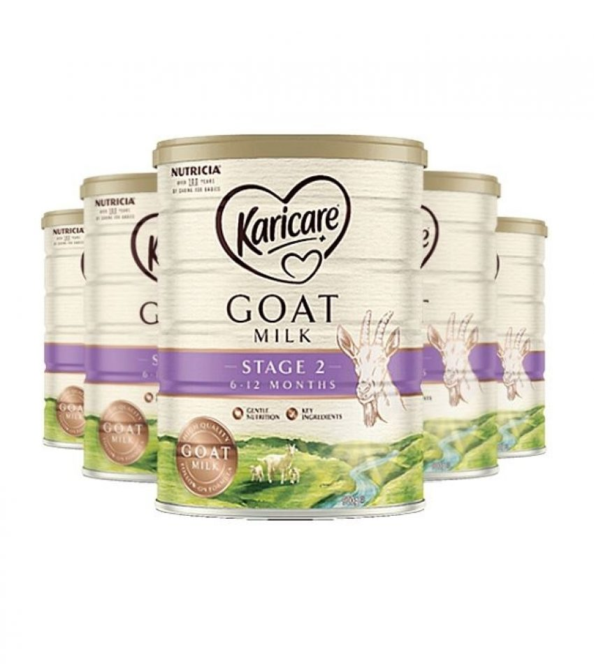 【包邮】Karicare可瑞康 羊奶粉900克*6罐 2段(6-12个月) Karicare Goat 2 Plus 6-12 Months (23年6月到期)