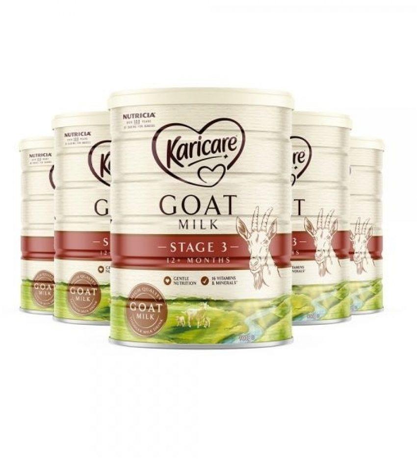 【包邮】Karicare可瑞康 羊奶粉900克*6罐 3段(1岁以上) Karicare Goat 3 Plus 1 Years Toddler (23年4月到期)