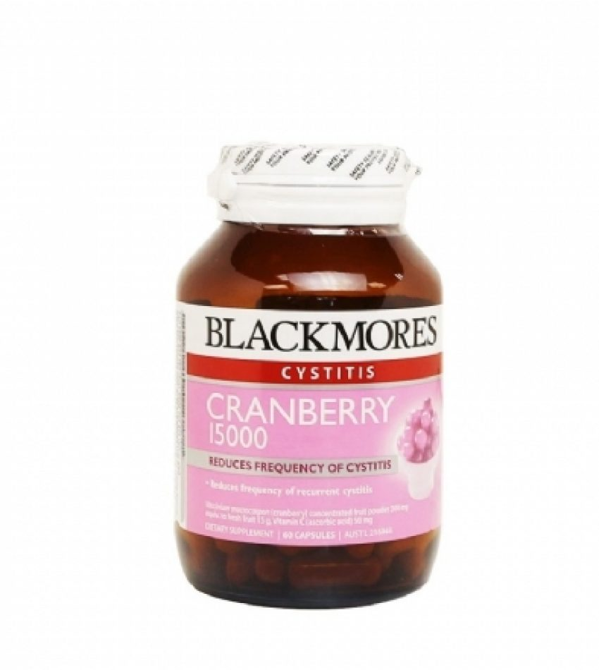 Blackmores澳佳宝 蔓越莓 15000mg 60粒 Blackmores Cranberry 15000mg 60Cap