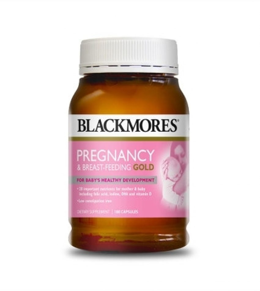 Blackmores澳佳宝 孕妇黄金素 180粒 Blackmores Pregnancy & Breast-Feeding Gold(21年12月到期)