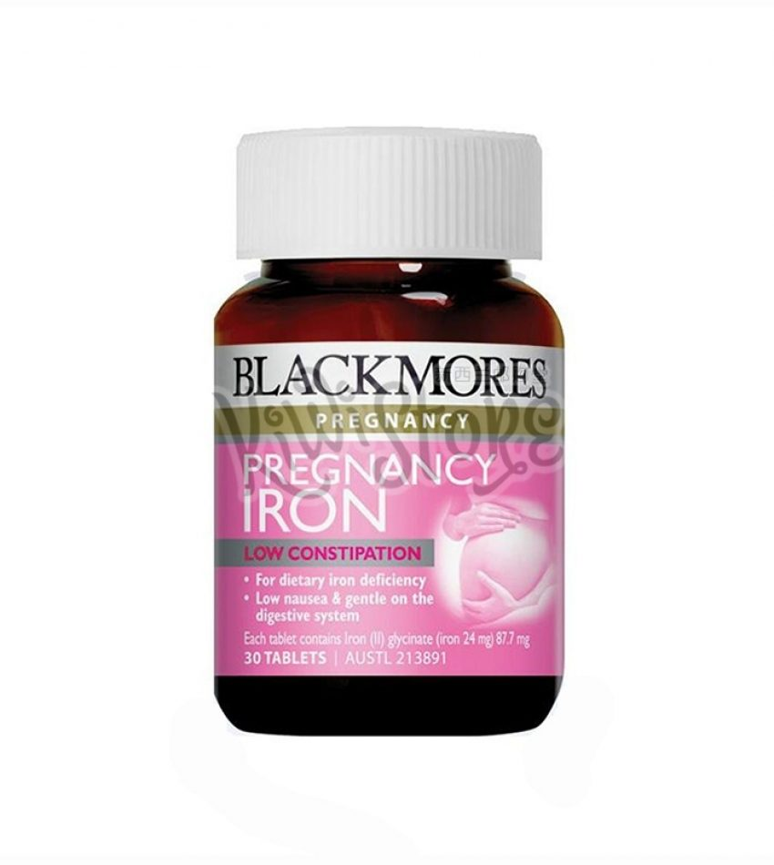 Blackmores澳佳宝 孕妇铁元素片 30片 Blackmores Pregnancy Iron 30Tab