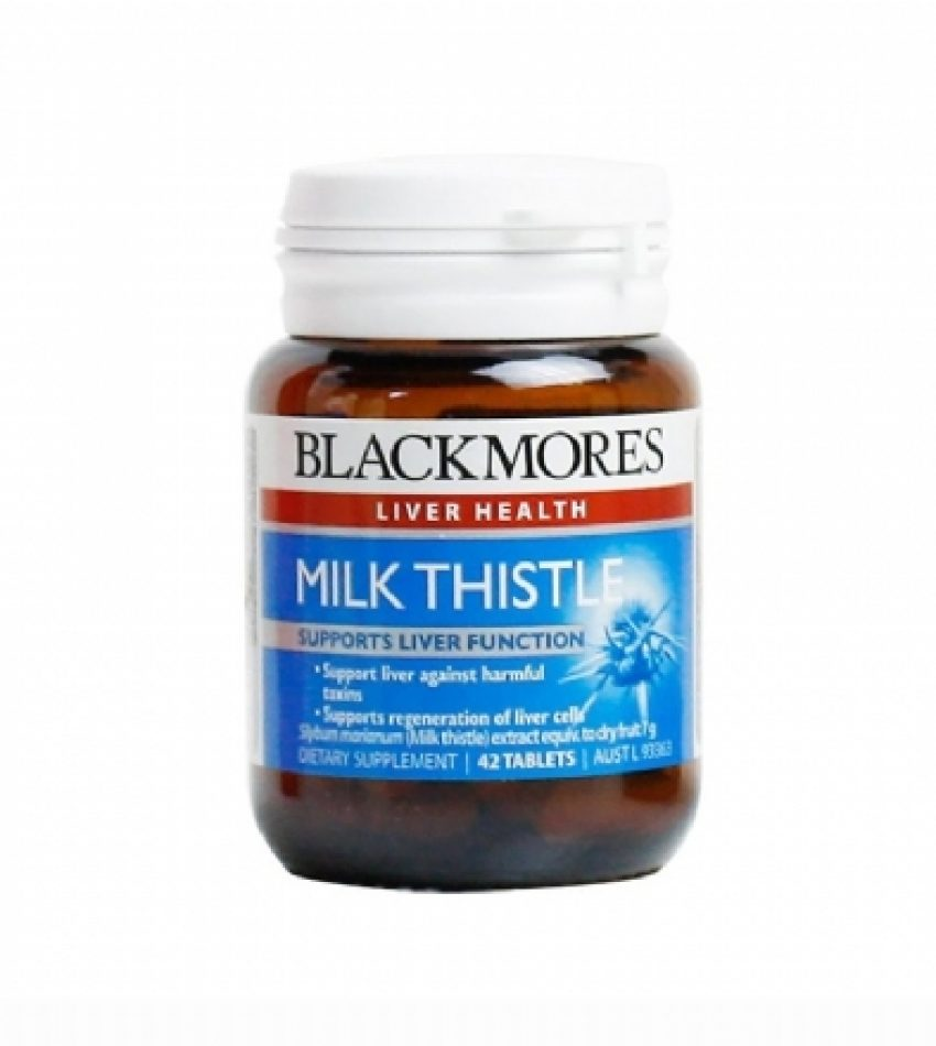Blackmores澳佳宝 奶蓟草护肝片 42片 Blackmores Liver Health Milk Thistle 42Tab