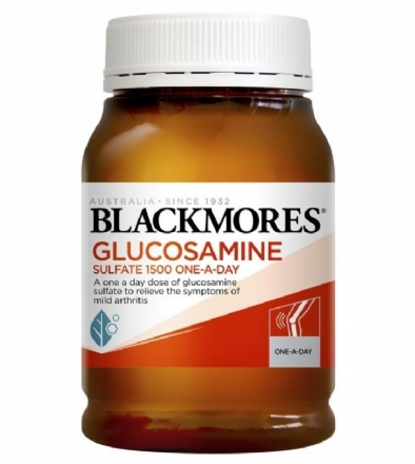 Blackmores澳佳宝 葡萄糖胺维骨力1500mg 180粒 Blackmores Glucosamine Sulfate 1500mg 180tab, 新包装(22年7月到期)