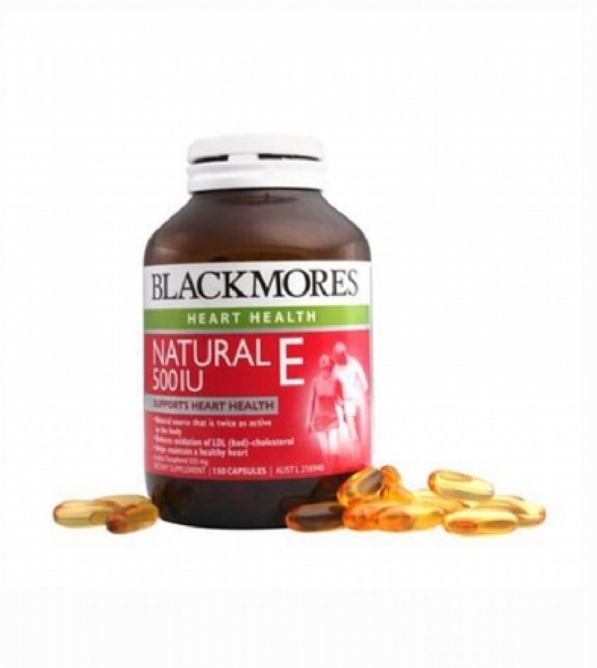 Blackmores澳佳宝 天然维生素E 150粒 Blackmores Natural 500IU 150Cap