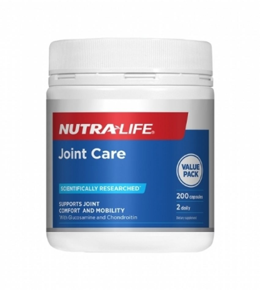 Nutralife纽乐 关节灵 200粒  NutralifeLife Joint Care 200Cap(23年到期)