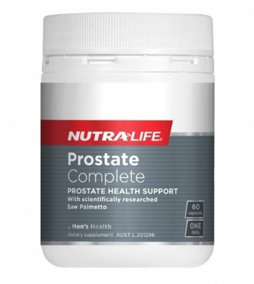 Nutralife纽乐 前列腺胶囊 男性生殖保养 60粒 Nutralife Prostate Complete 60Cap