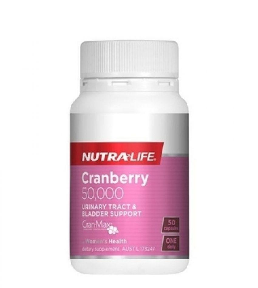 Nutralife纽乐 蔓越莓 50000毫克 Nutralife Cranberry 50000mg 50粒/100粒 可选