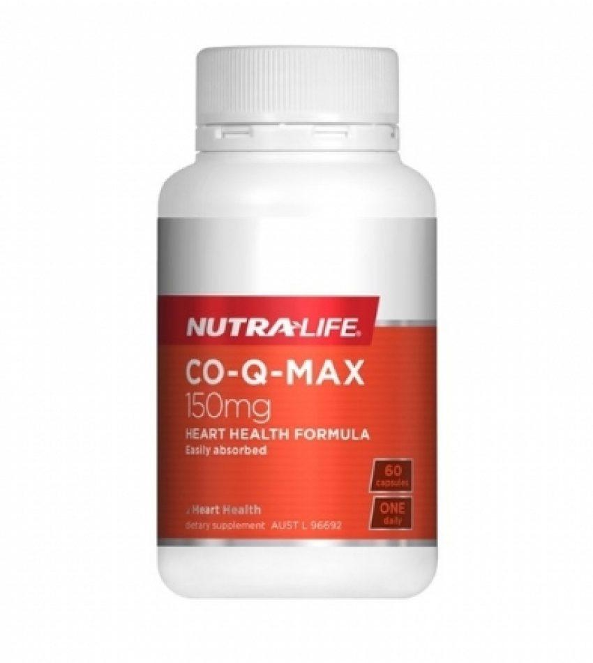 Nutralife纽乐 辅酶Q10胶囊 Nutralife Co-Q-Max 150mg(22年中到期)