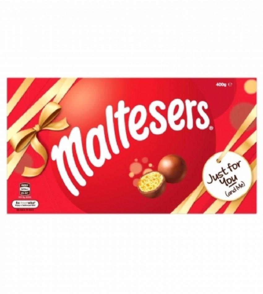 Maltesers麦提莎 麦丽素巧克力礼盒装400g Maltesers Box 400g (21年中到期)