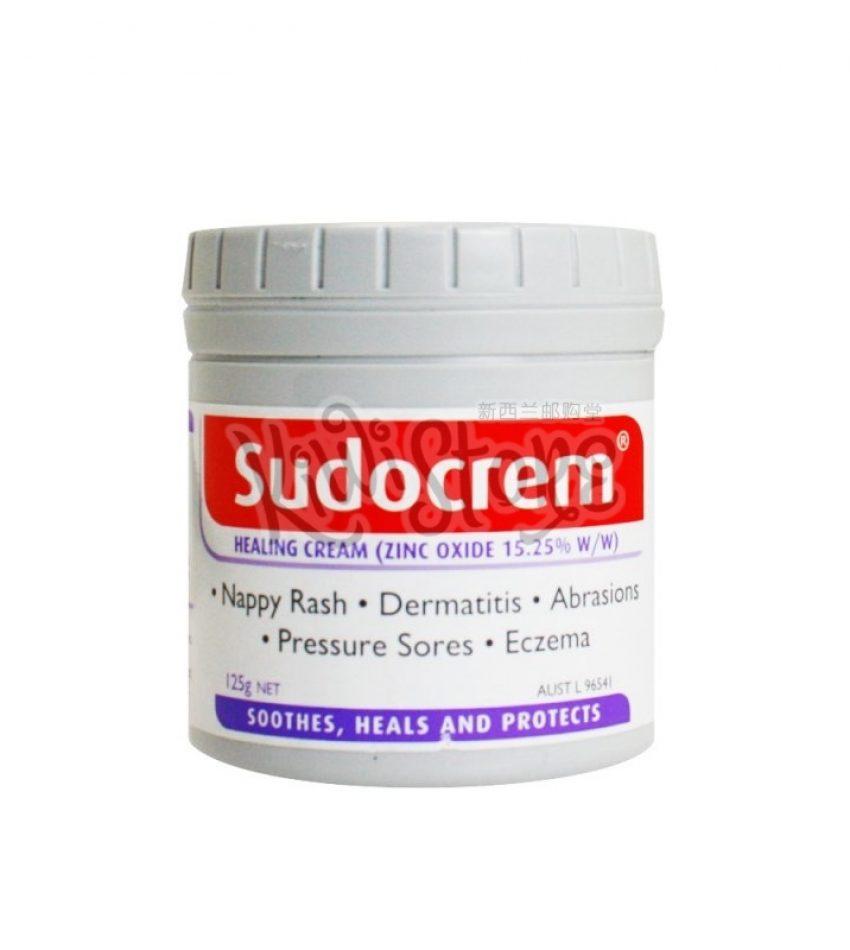 Sudocrem 婴儿尿布疹 湿疹 护臀霜 125g Sudocrem Healing Cream 125g