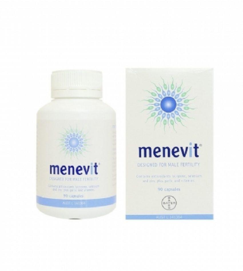 Elevit 爱乐维 男士备孕优生营养素 90粒 Menevit 90 Cap (22年6月到期)