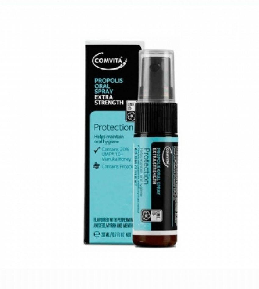 Comvita康维他 蜂胶喷剂 加强版UMF10+ 20ml Comvita Propolis Oral Spray Extra UMF10+ Spray 20ml