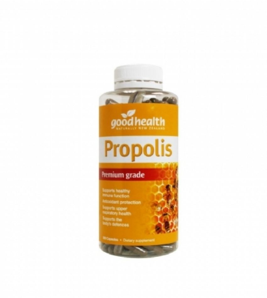 Good Health好健康 特级蜂胶胶囊 300粒 Good Health Propolis Premium Grade 300Cap(23年底到期)