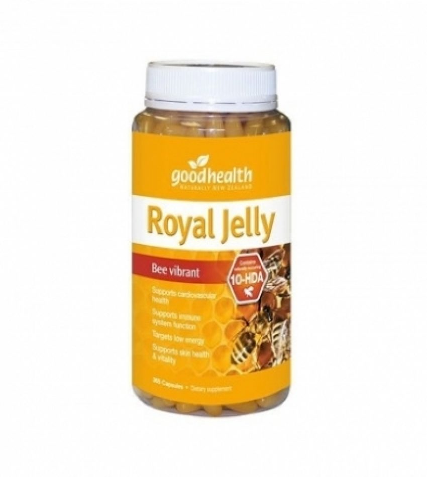 Good Health好健康 蜂王浆胶囊1000mg 365粒 Good Health Royal Jelly 1000mg 365 Cap