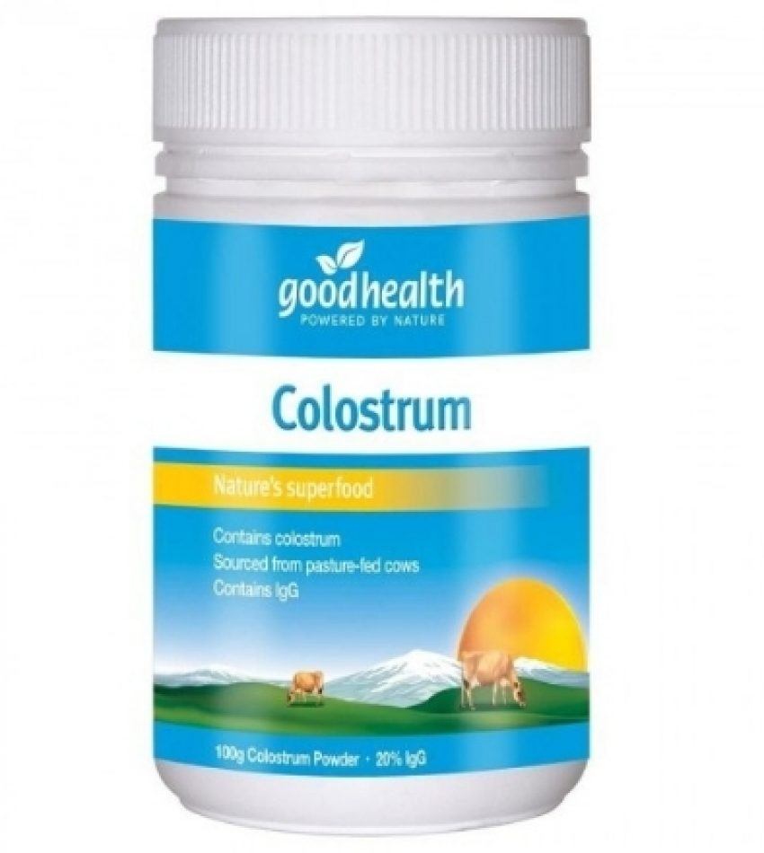 Good Health好健康 纯牛初乳粉100g Good Health Colostrum Powder 100g  (22年底到期)