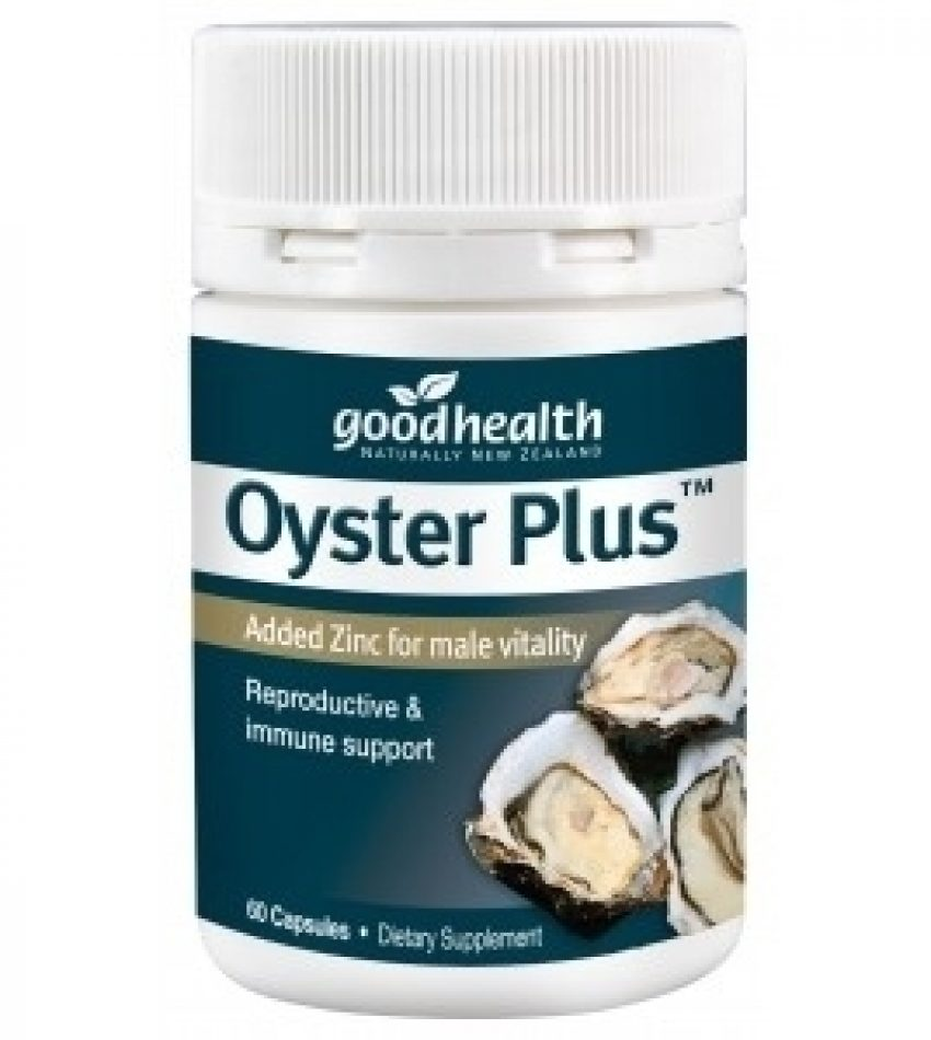 Good Health好健康 牡蛎精胶囊350mg 60粒 Good Health Oyster Plus 60Cap