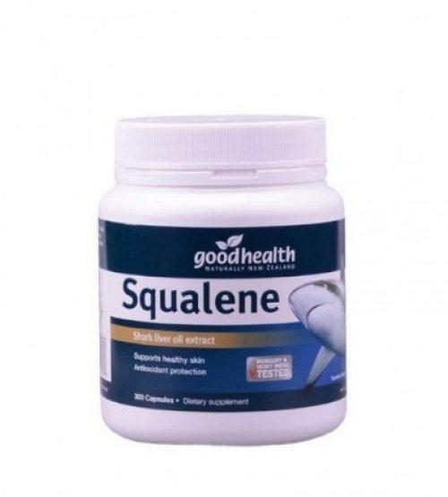 Good Health好健康 角鲨烯胶囊 300粒 Good Health Squalene 300Cap(23年12月到期)(买一瓶送一瓶70粒角鲨烯)(数量有限 送完为止)