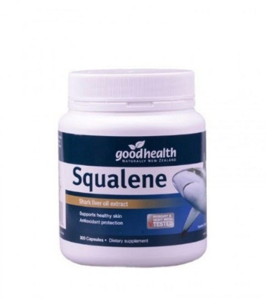 Good Health好健康 角鲨烯胶囊 300粒 Good Health Squalene 300Cap(22年底到期)