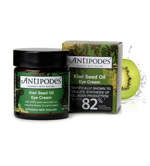 Antipodes安蒂碧斯 奇异果眼霜 30ml Antipodes Kiwi Seed Oil Eye Cream 30ml(23年底到期)
