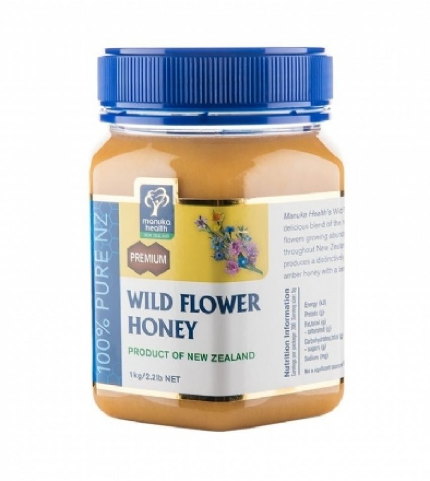 Manuka Health蜜纽康 野花混合蜂蜜 500g/1kg Manuka Health Wild Flower Honey 500g/1kg (500克/1公斤 2种可选)