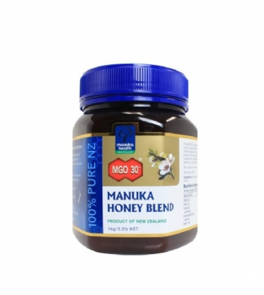 Manuka Health蜜纽康 MGO30+ 混合麦卢卡蜂蜜 500g/1kg Manuka Health MGO30+ Manuka Honey Blend 500g/1kg (500克/1公斤 2种可选)