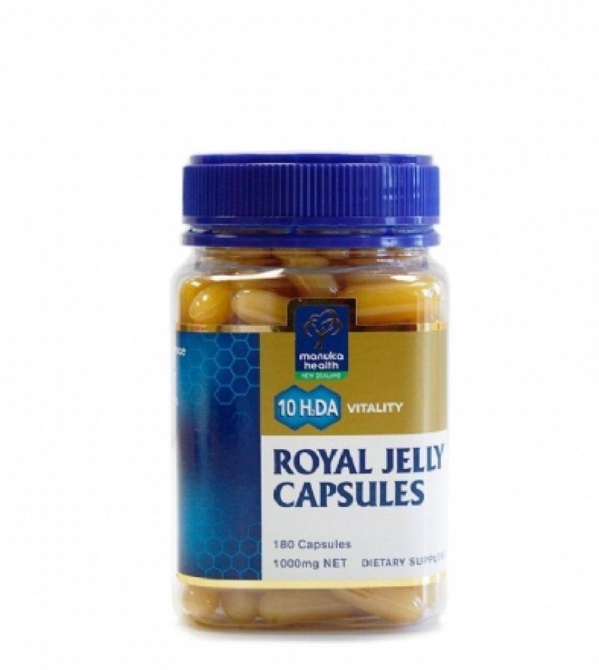 Manuka Health蜜纽康 蜂王浆胶囊 180粒/365粒 Manuka Health Royal Jelly 180Cap/365Cap (180粒/365粒 2种可选)