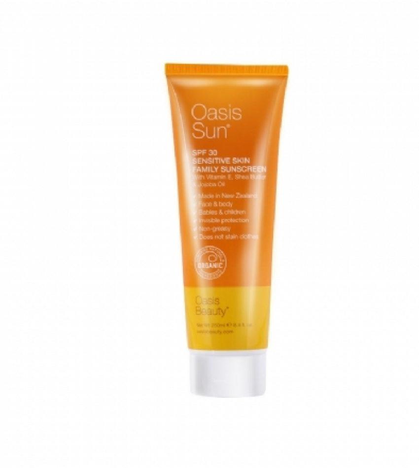 Oasis绿洲 SPF30+ 纯天然防晒霜 250ml 无添加剂 无色素 Oasis SPF30+ Sun Cream 250ml(22年3月到期)