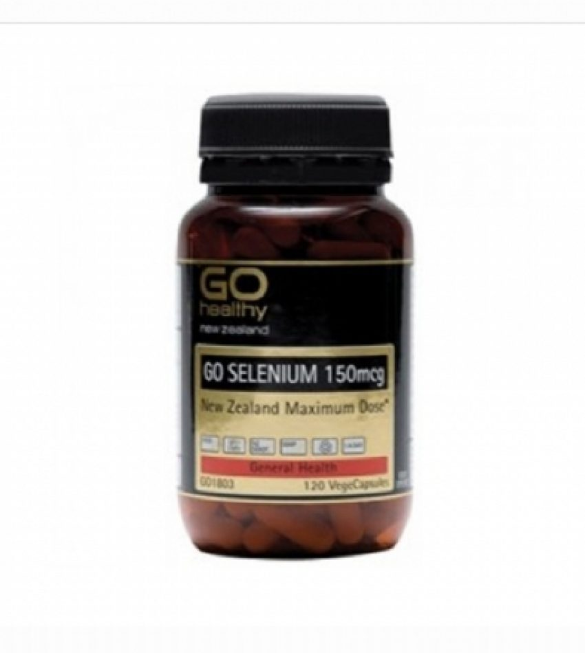 Go Healthy高之源 补硒胶囊 150毫克 120粒 Go Healthy Selenium 120Cap(23年中到期)