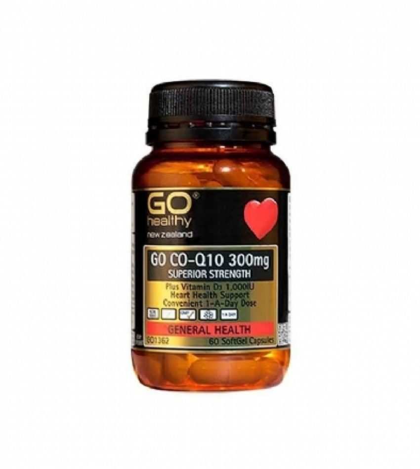 Go Healthy高之源 Co-Q10 心脏辅酶胶囊 300mg Go Healthy C0Q10 300mg(23年8月到期)