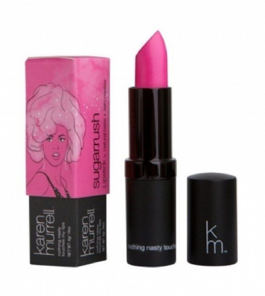 Karen Murrell 口红 18号 闪亮糖果红色 4g Karen Murrell Lipstick 18