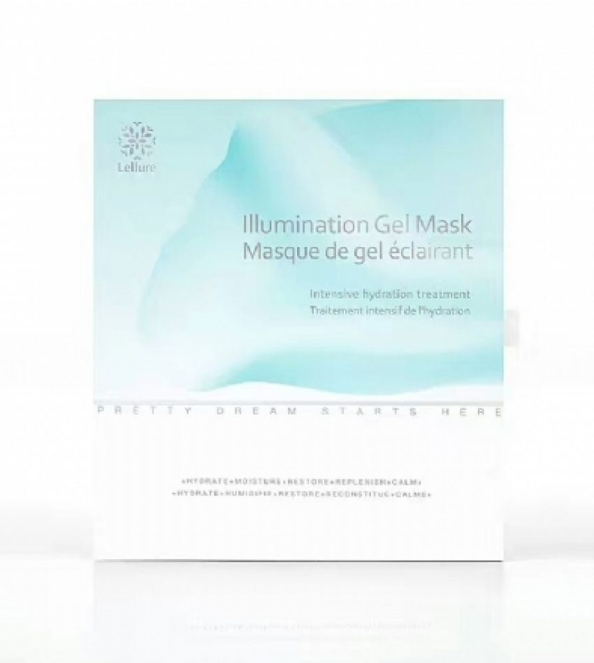 Lellure 玲珑能量水冻膜 白藜芦醇玻尿酸睡眠涂抹式面膜 LELLURE ILLUMINATION GEL MASK ( 5袋 / 10袋, 2种可选)