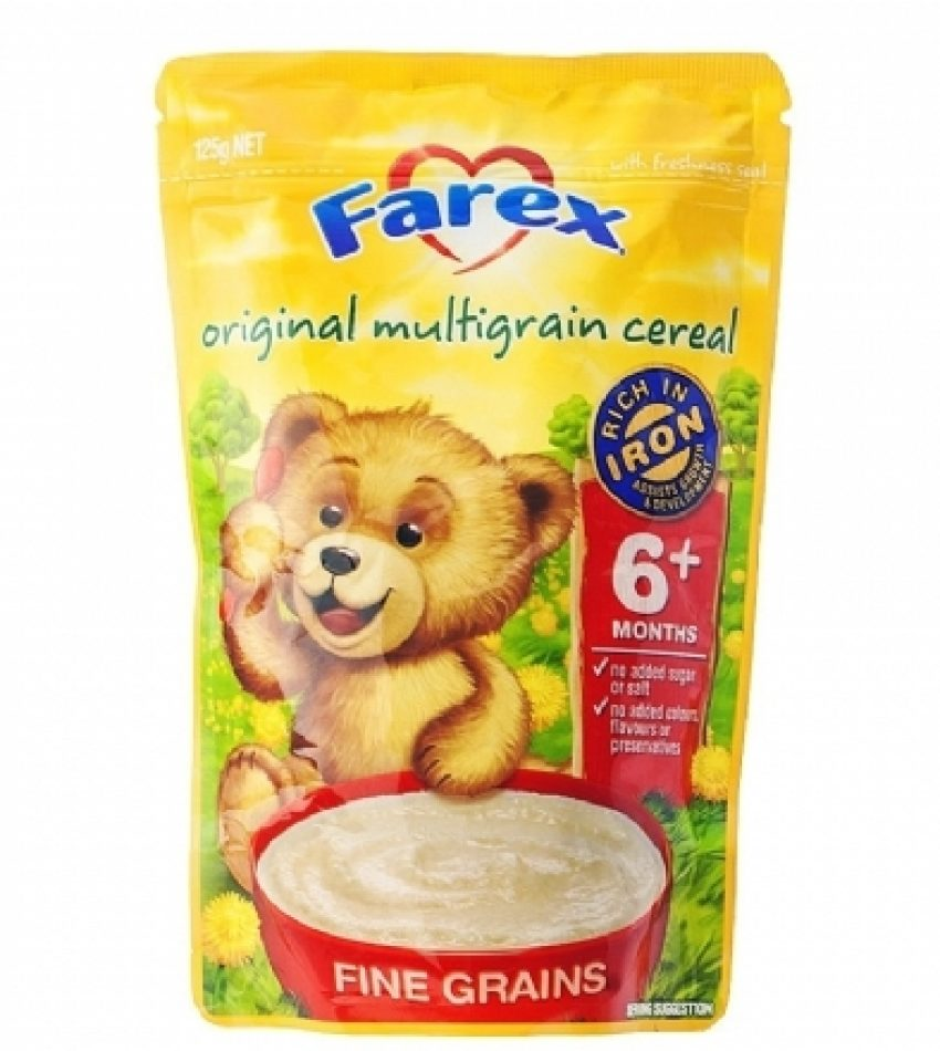 Farex 原味高铁6+婴儿米粉 125g Farex Original Multigrain Cereal 6+ 125g