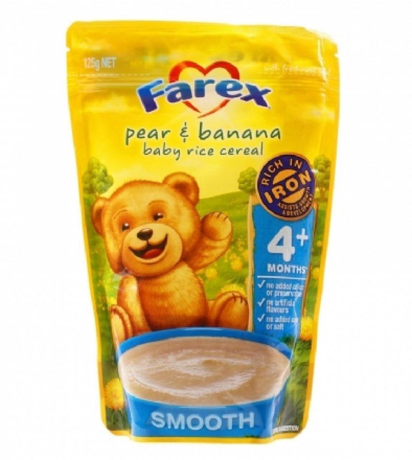 Farex 高铁4+婴儿米粉 125g Farex Baby Rice Cereal 4+ 125g