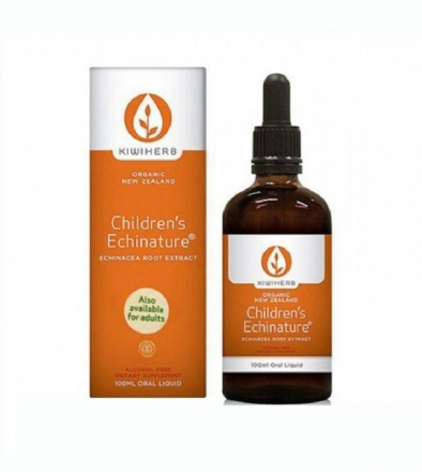 KiwiHerb 婴幼儿有机紫锥菊 儿童糖浆 100ml Kiwi Herb Children's Echinature 100ml(22年10月)买一瓶送一瓶儿童免洗洗手液