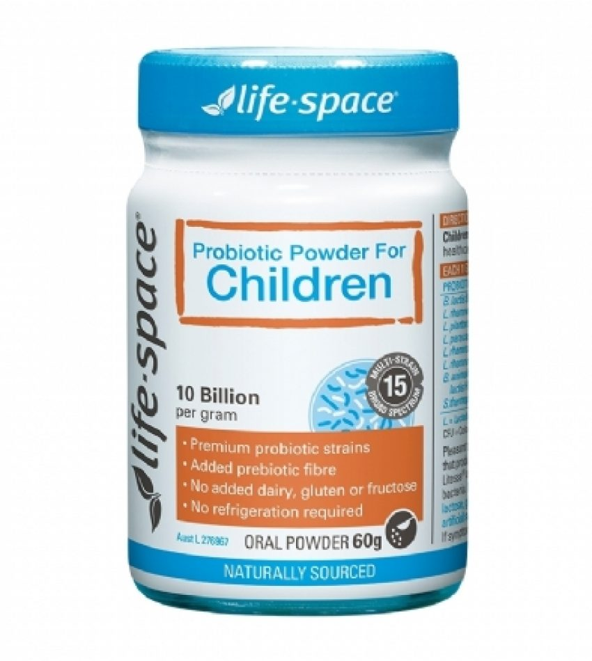 Life Space 儿童益生菌粉 3-12岁 60g   Life Space Probiotic Powder For Children 60g(22年12月到期)