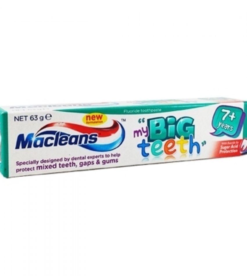 Macleans 7岁以上 大儿童专用牙膏 63g  Macleans Big Teeth 63g