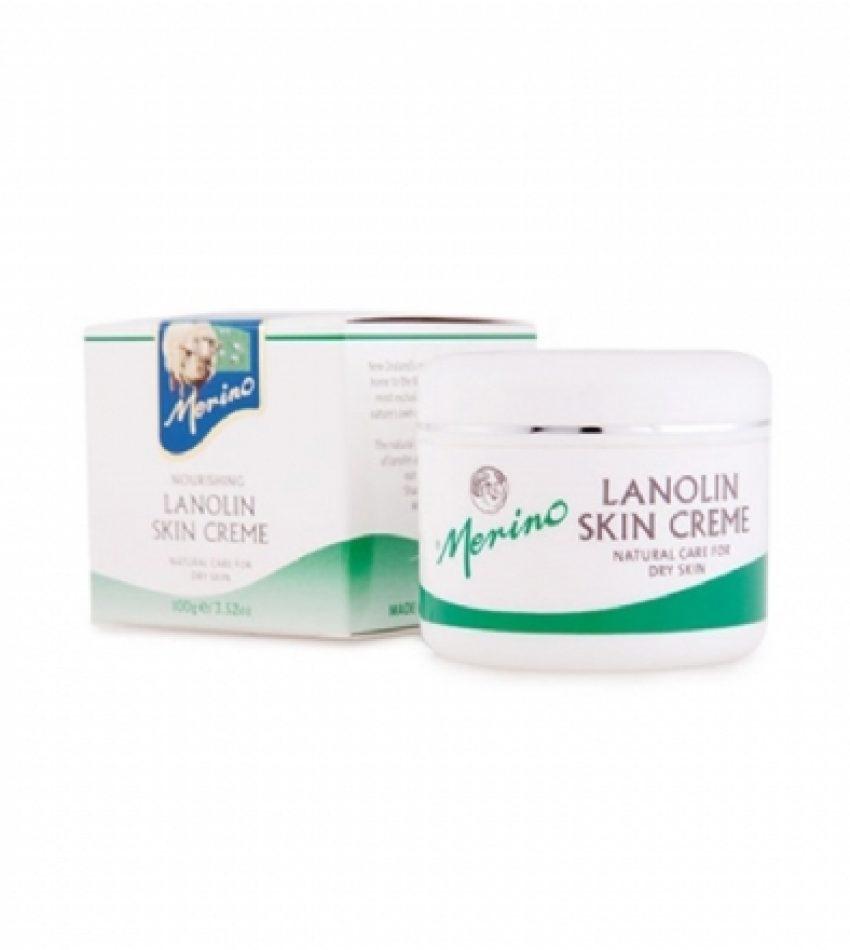 Merino美丽诺 绵羊油面霜100g  Merino Lanolin Skin Cream 100g