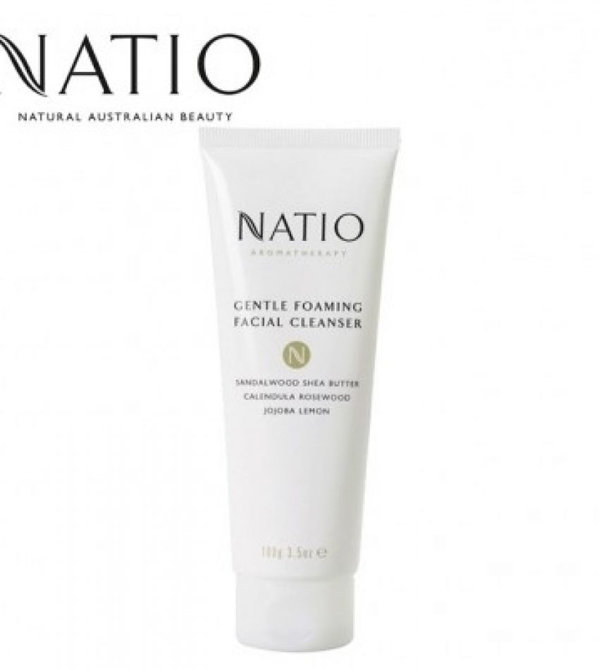 Natio娜迪奥 温和泡沫洁面乳 100g NATIO GENTLE FOAMING FACIAL CLEANSER 100G