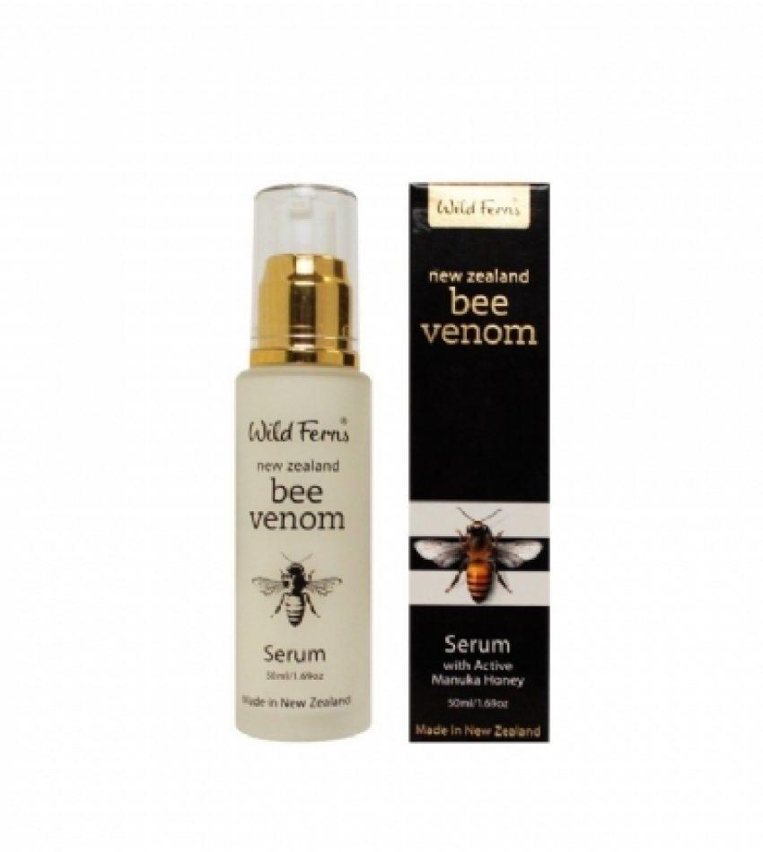 Wild Ferns Parrs帕氏 蜂毒精华 含麦卢卡活性蜂蜜 50ml Parrs Wild Ferns Bee Venom Serum with Active Manuka Honey 50ml