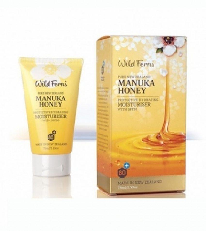Wild Ferns Parrs帕氏 麦卢卡蜂蜜 SPF30防晒补水日霜 75ml Parrs Manuka Honey Protective Hydrating Moisturiser with SPF30 75ml