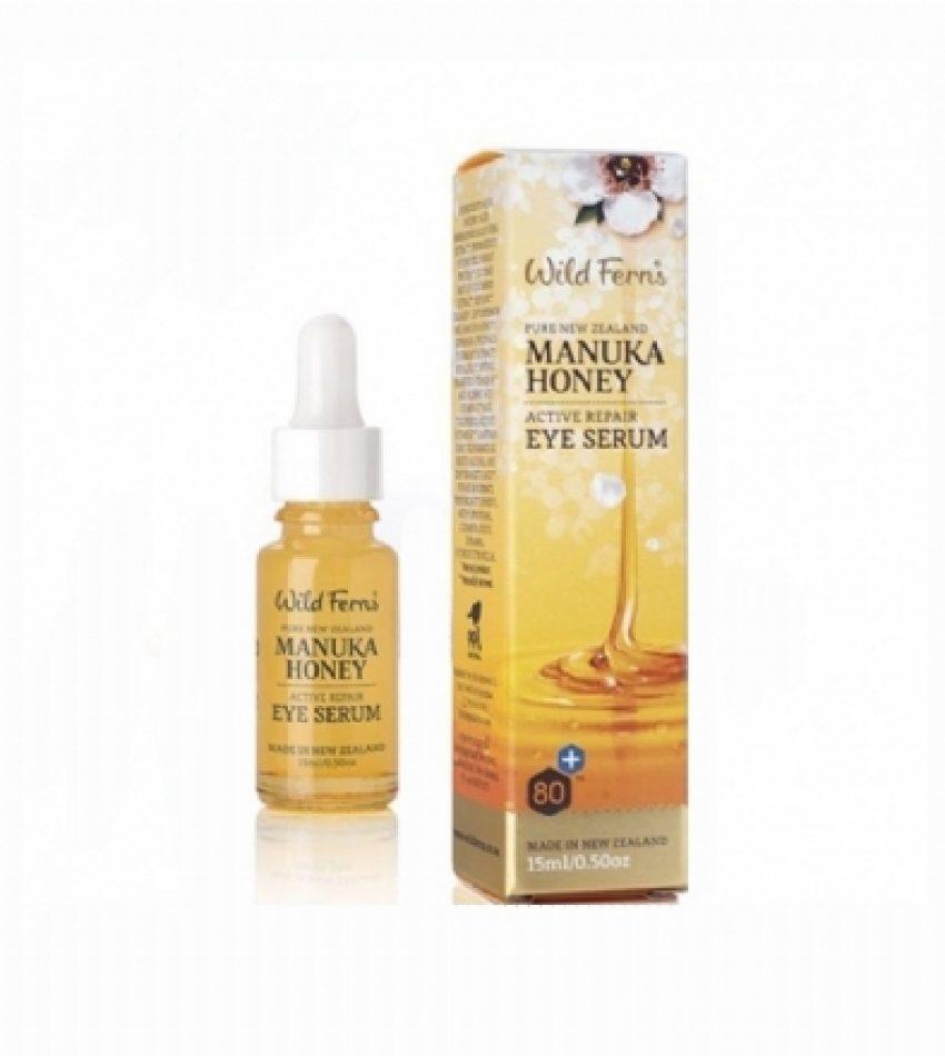 Wild Ferns Parrs帕氏 麦卢卡蜂蜜 眼部精华液 15ml Wild Ferns Parrs Manuka Honey Eye Serum 15ml(22年底到期)