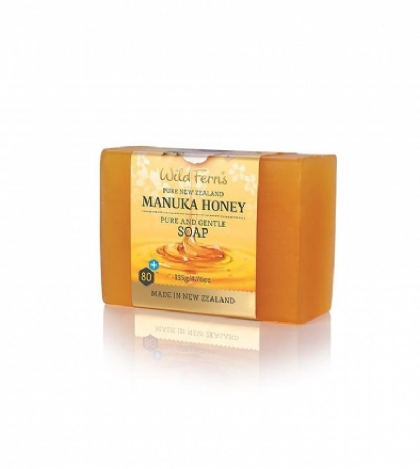 Wild Ferns Parrs帕氏 麦卢卡蜂蜜 香皂 135g Wild Ferns Parrs Manuka Honey Pure and Gentle Soap 135g
