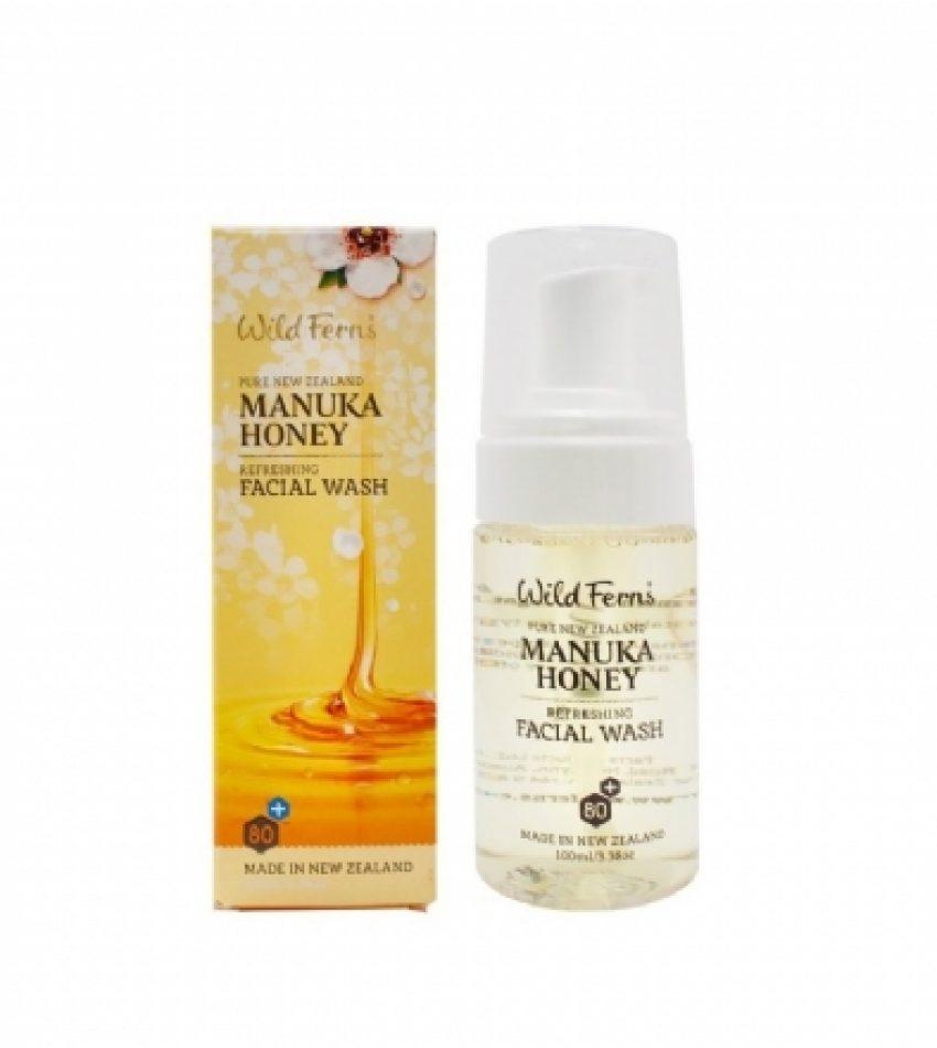 Wild Ferns Parrs帕氏 麦卢卡蜂蜜洗面奶 100ml Wild Ferns Parrs Manuka Honey Refreshing Facial Wash 100ml