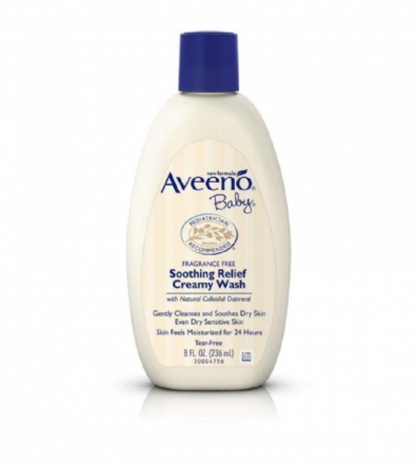 Aveeno Baby  燕麦舒缓滋润沐浴露 缓解湿疹 236ml Aveeno Baby Soothing Relief Creamy Wash 236ml