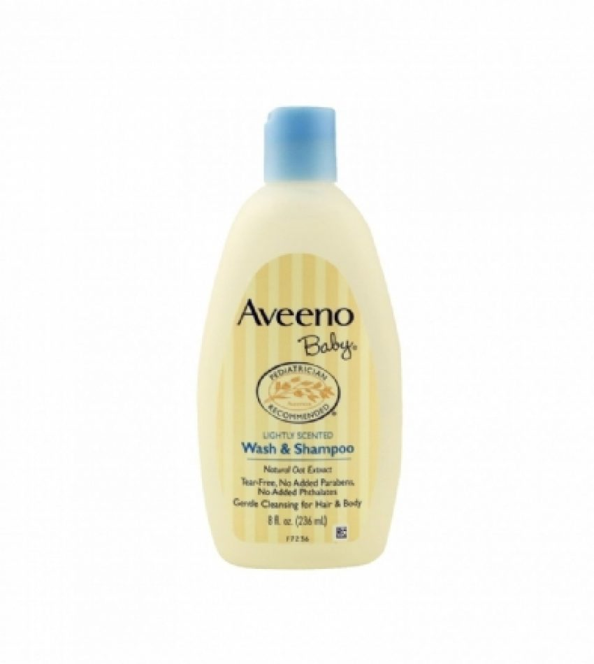 Aveeno Baby 洗发沐浴二合一 236ml AVEENO BABY WASH & SHAMPOO 236ml
