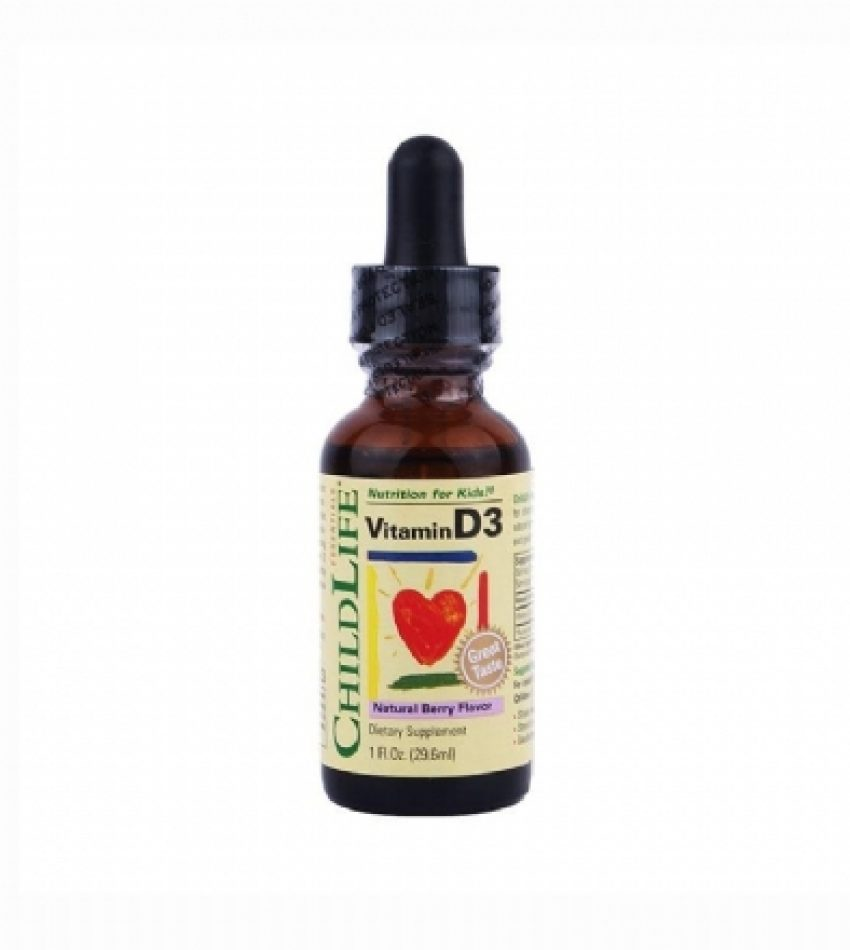 Childlife童年时光 婴幼儿维生素D3滴剂(浆果味) 29.6ml Childlife Vitamin D3 (Berry) 29.6ml